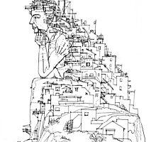Trasposizione by Luca Massone  disegni