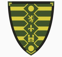 Medieval Knights Shield Pattern Kids Clothes