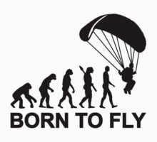 Evolution Skydiving born to fly by Designzz