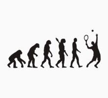 Evolution Tennis player  by Designzz