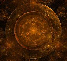 Bronze Mandala Background by moonbloom