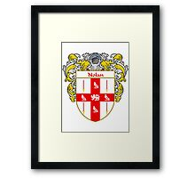 Nolan Coat of Arms/Family Crest Framed Print