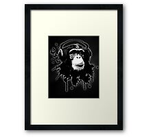 Monkey Business - Black Framed Print