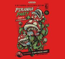 Piranha Party by bobmosquito