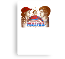 Pete and Pete and Artie in Wellsville  Canvas Print