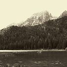 Sepia Toned String Lake by Brenton Cooper