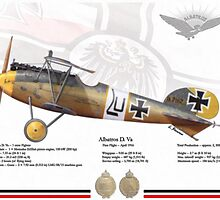 Albatros D Va by A. Hermann