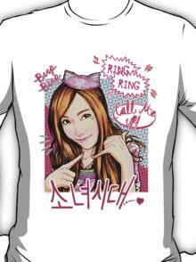 SNSD Jessica - Beep Beep Theme T-Shirt