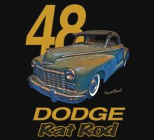 48 Dodge Business Coupe Rat Rod Kids Clothes