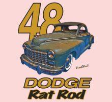48 Dodge Business Coupe Rat Rod Kids Clothes