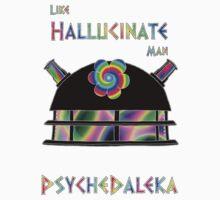 PsycheDaleka Head - Psychedelic Dalek! Kids Clothes