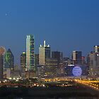 Dallas Skyline Images 612-2 by RobGreebonPhoto