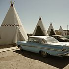 Wigwam Motel by Adam Berardi