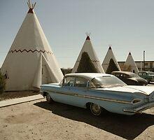 Wigwam Motel by Adam Berardi