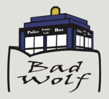 Tardis - Bad Wolf Pocket Shirt by DavinciSMURF