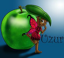 Green Apple Fairy Uzuri by treasured-gift