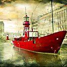 lightship in rotterdam by gruntpig