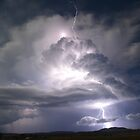 """Lightning super cell"" by GrantRolphPhoto"