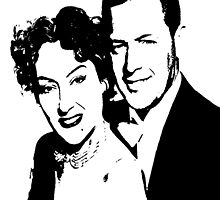 William Holden And Gloria Swanson by Museenglish