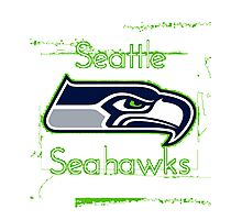 Seahawks Photographic Print