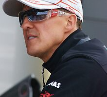 Michael Schumacher 2011 by Rhiannon D'Averc
