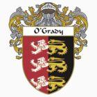 O'Grady Coat of Arms / O'Grady Family Crest by William Martin
