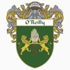 O'Reilly Coat of Arms / O'Reilly Family Crest by William Martin
