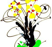 Flowers- Unique Art by Vincent J. Newman