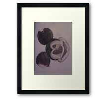 zombie mickey mouse Framed Print