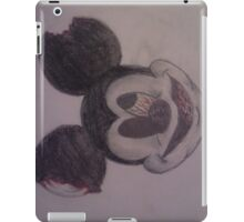 zombie mickey mouse iPad Case/Skin
