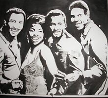 Gladys Knight & the Pips by Colin  Laing