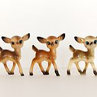 Deer Trio by Candypop