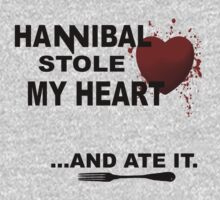 Hannibal stole my heart.... and ate it. by FandomizedRose