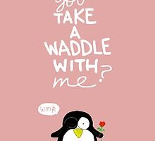 Valentine's Day Card (PENGUIN) by Mike Matthews