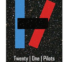 Twenty One Pilots Space by Mike Humphreys