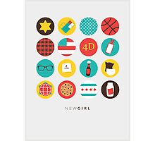 New Girl Things Poster Photographic Print