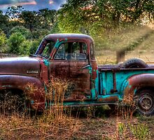 Sunset Chevy by Ken Smith