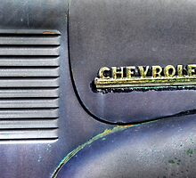 Chevy Fender, Hood, and Emblem by Ken Smith