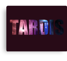Doctor Who - TARDIS Canvas Print