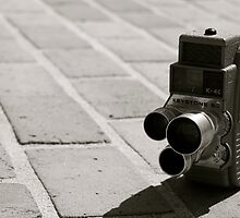 Vintage Film Movie Camera by ericreising