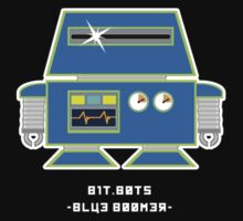 bit.bots BLUE BOOMER by 01Graphics