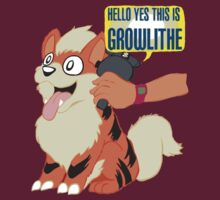 Hello Yes This is Growlithe by CatBountry