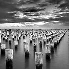 Princes Pier, Melbourne by John Holding