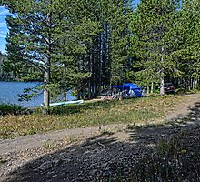 Grassy Lake Reservoir Camp I by Brenton Cooper