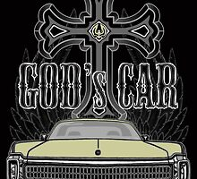 God's car by Patricia Van Lubeck