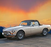 1973 MGB Roadster by DaveKoontz
