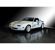 1991 Mazda Miata SCCA Spec Car Photographic Print