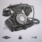Series 232 Bakelite GPO Phone by Mike O'Connell