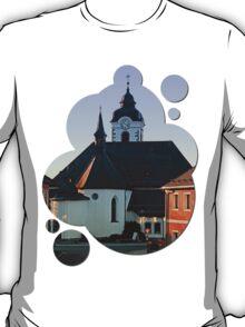 The village church of Vorderweissenbach | architectural photography T-Shirt