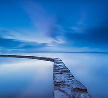 The Blue Lake @ Clevedon by Gary Clark